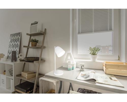Lampe de table LED 14W 300 lm 3000-6000 K blanc chaud/blanc neutre/blanc lumière du jour Listo blanc h 410 mm
