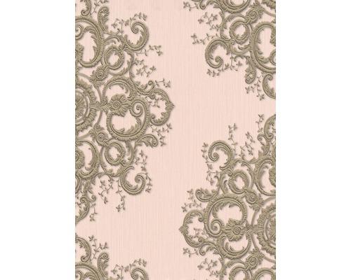 Paper peint intissé 10154-05 ELLE Décoration Ornement rose