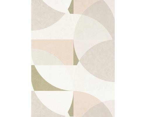 Papier peint intissé 10150-05 Elle Décoration Graphique rose