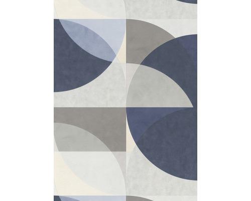 Papier peint intissé 10150-08 ELLE Décoration Graphique bleu