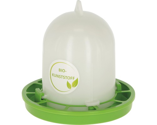 Distributeur automatique de nourriture pour volailles élevées au sol en plastique bio 1 kg