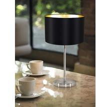 Lampe de table Maserlo monolampe it/brun nickel mat/noir or H 420 mm-thumb-0