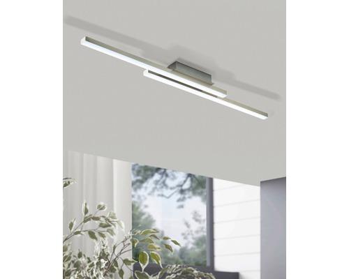 LED Deckenleuchte RGB CCT nickel/matt dimmbar 17W 2300 lm 2765 K warmweiß