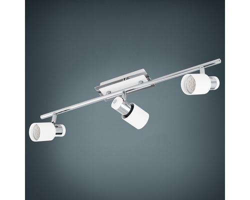 Spot LED Davida 3x5W/GU10 chrome/blanc