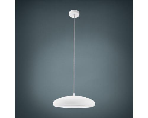 Suspension LED RGB CCT à intensité lumineuse variable 27W 3400 lm 2700-6500 K blanc chaud - blanc naturel Crosslink blanc hxØ 1500x445 mm