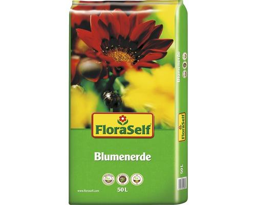 Terreau pour fleurs FloraSelf 50 L
