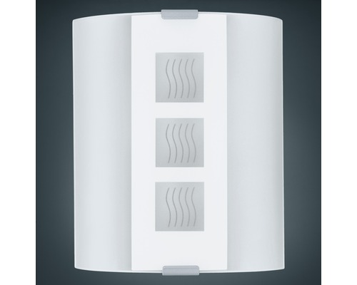 Applique murale Quadrat Welle Grafik 1 ampoule blanc
