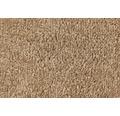 Teppichboden Velours Ines braun 400 cm breit (Meterware)