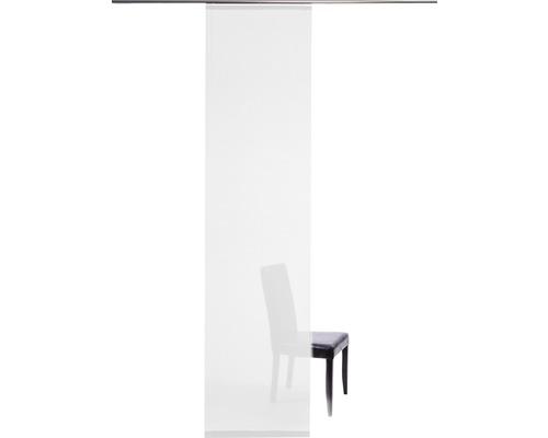 Schiebegardine Manhattan weiß 60x245 cm