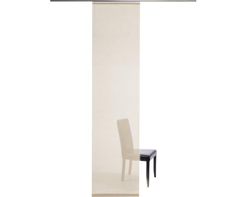 Schiebegardine Manhattan creme 60x245 cm