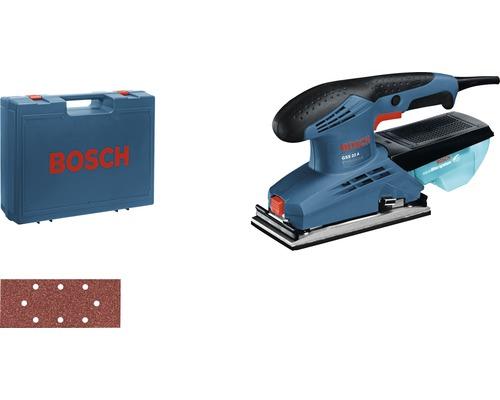 Ponceuse vibrante Bosch Professional GSS 23 A avec 5 x feuilles abrasives C430 et coffret de transport