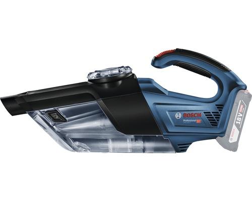 Aspirateur sans fil Bosch Professional GAS 18V-1 avec suceur articulé, suceur droit et 2 x tubes d''aspiration sans batterie ni chargeur