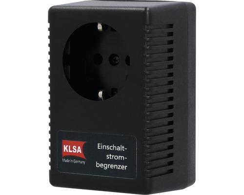 Limiteur de courant de démarrage et limiteur de courant d''appel en tant que prise intermédiaire 16A noir