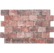 Pavé rectangulaire Rustikal rouge multicolore 14 x 21 x 6 cm-thumb-2