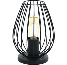 Lampe de table Newtown 1 ampoule noire H 230 mm-thumb-3