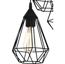 Lampe à suspension Tarbes à trois flammes cuivre Ø 310 mm-thumb-8