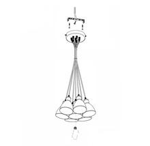 Suspension 7 ampoules Ø385mm Priddy noir/blanc-thumb-9