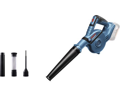 Souffleur sans fil Bosch Professional GBL 18V-120 avec 4 accessoires sans batterie ni chargeur
