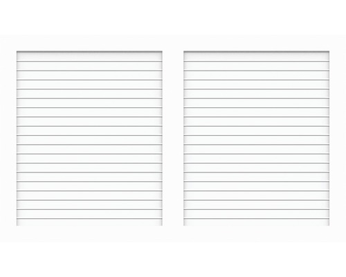 Élément principal BasicLine type W 150x90 cm, blanc
