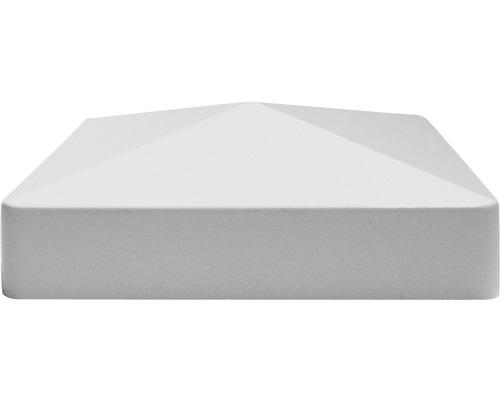 Cache de poteau, 8,7 x 8,7 cm, gris argent