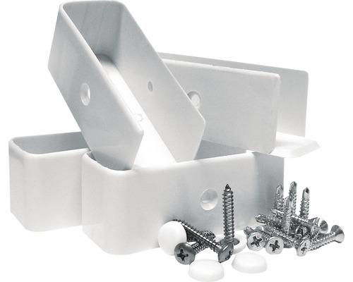 Kit de vis de raccordement intermédiaire, blanc