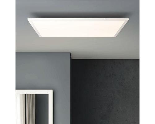 Structure de panneau LED IP20 1x36W 3600lm 2700K blanc chaud 595x595mm Buffi blanc