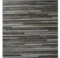 PVC Elara Feinstabparkett anthrazit metallic 300 cm breit (Meterware)