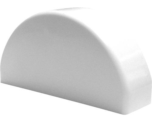 Couvre poteau, 8,6x2,5 cm, blanc