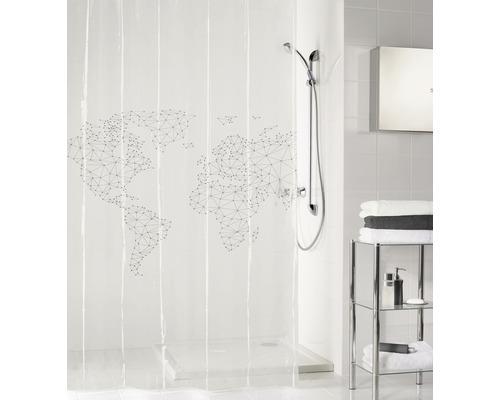 Rideau de douche Kleine Wolke envie de voyage 180 x 200 cm