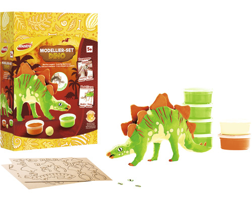 Kit de modelage Dino - Stegoraurus