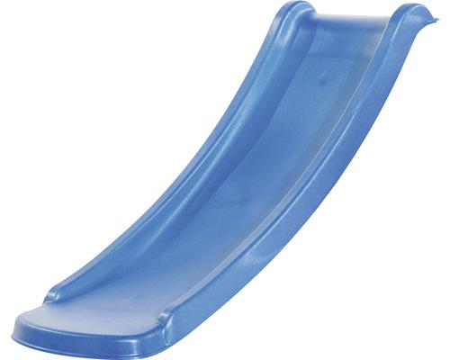 Toboggan enfant sans chevalet axi Sky120 toboggan plastique bleu