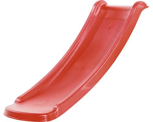 Toboggan enfant sans chevalet axi Sky120 toboggan plastique rouge