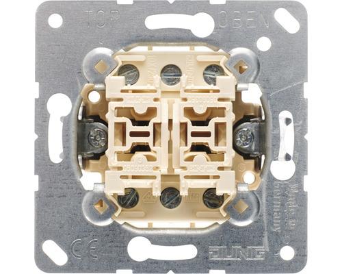 Mécanisme d''interrupteur va-et-vient double Jung 509 U