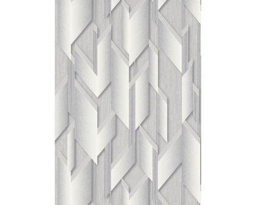 Papier peint intissé 10145-31 GMK graphique gris clair