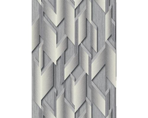 Papier peint intissé 10145-10 GMK graphique gris