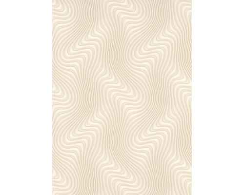 Papier peint intissé 10146-02 GMK ondulations beige