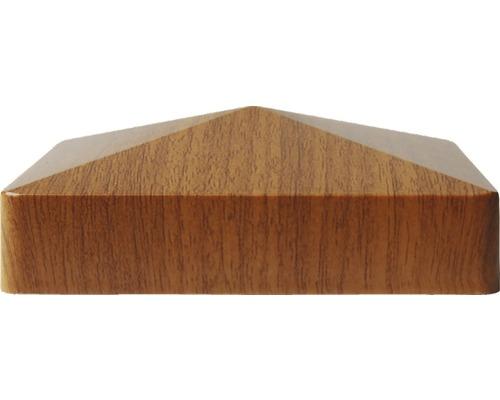 Couvre poteau, 8,7x8,7 cm, golden oak