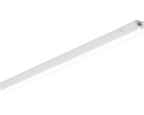 Éclairage sous-meuble LED 7W 630 lm 3000 K blanc chaud L 600 mm Pipe blanc