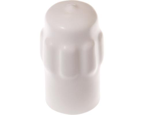 Butoir de porte Deltafix blanc Ø 35 x H 65mm