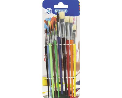 Set de 10 pinceaux pour aquarelle