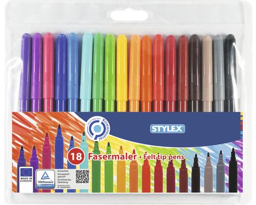 Feutres de coloriage, 18 pces