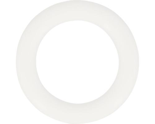 Anneaux en plastique pour Ø 28 mm blanc 10 pièces