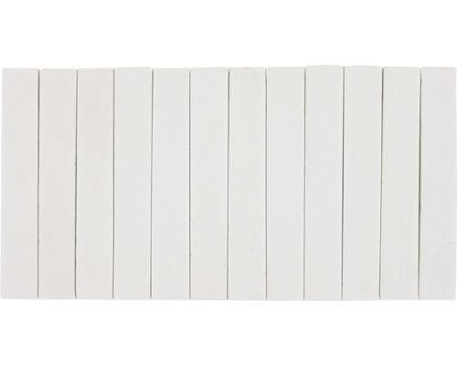 Craie pour l''école 12 bâtons blanc