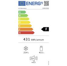 Side by Side Kühlschrank LG GSI961PZAZ BxHxT 91,2 x 179 x 73,8 cm Kühlteil 411 l Gefrierteil 214 l 431 kWh/Jahr edelstahl mit InstaView-Funktion: klopfen und reinschauen-thumb-4