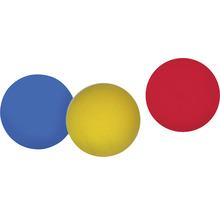 Balles de softball Happy People Ø 7 cm coloré 3 pces-thumb-1