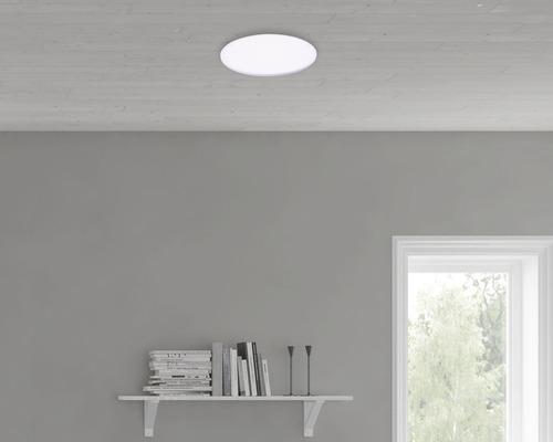 Plafonnier LED 22W 2200lm 2700K blanc chaud Ø 422mm