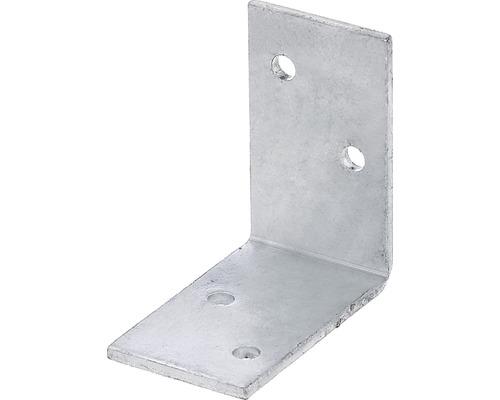 Angle de pergola 40x70x70mm, galvanisé à chaud-0
