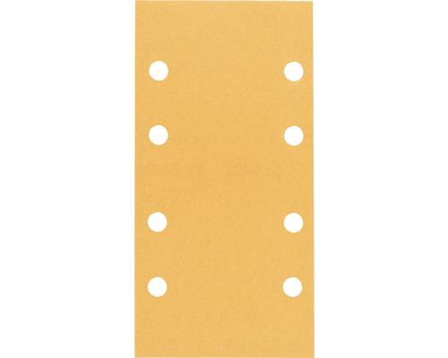 Feuille abrasive pour ponceuse vibrante Best for Wood and Paint, 93x186 mm, grain 120, lot de 10