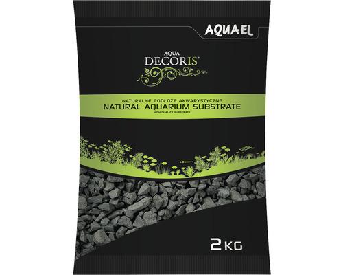 Substrat AQUAEL basalte 2-4 mm 2 kg gris