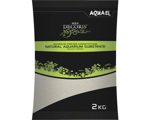 Sable d''aquarium AQUAEL Aqua Decoris sable quartzeux 0,1-0,3 mm 2 kg